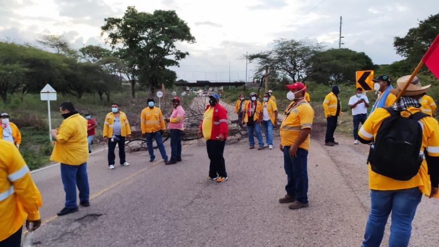Cerrejón rechaza bloqueo a la vía férrea por extrabajadores