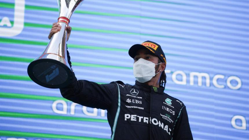 Lewis Hamilton ganó el Gran Premio de España de Formula 1