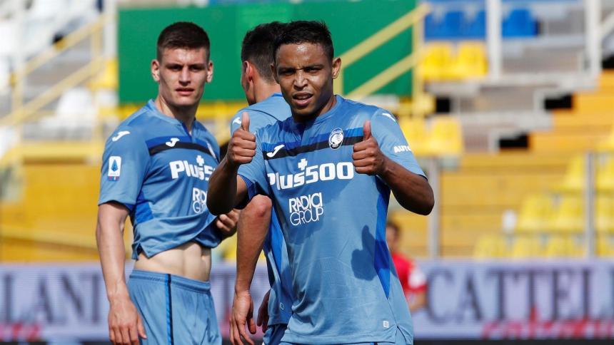 Con doblete de Muriel, el Atalanta venció por 5-2 al Parma