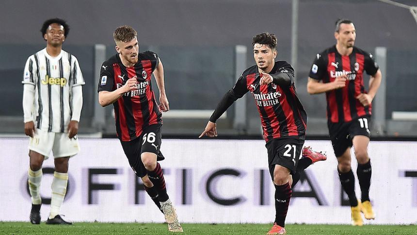 Milan derrota al Juventus por 3-0