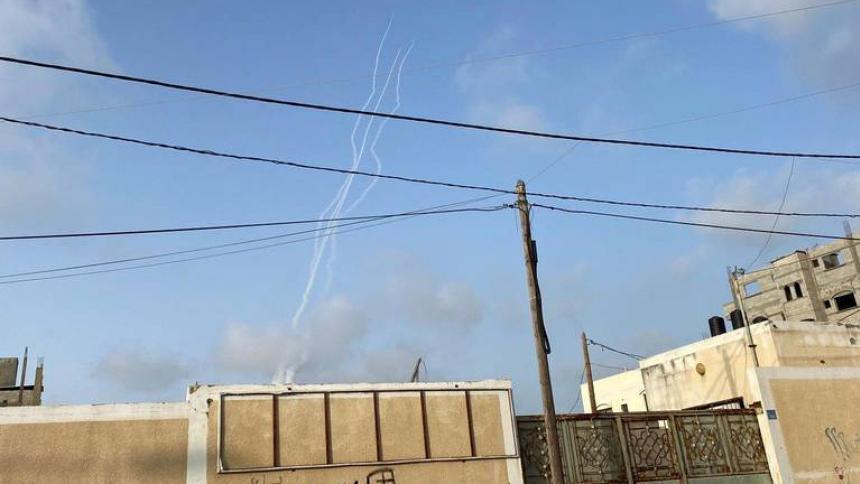 Cohetes disparados desde Gaza explotan en Jerusalén