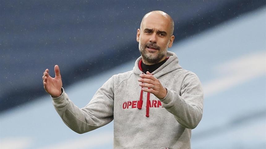 Guardiola se siente orgulloso tras obtener el título de la Premier League