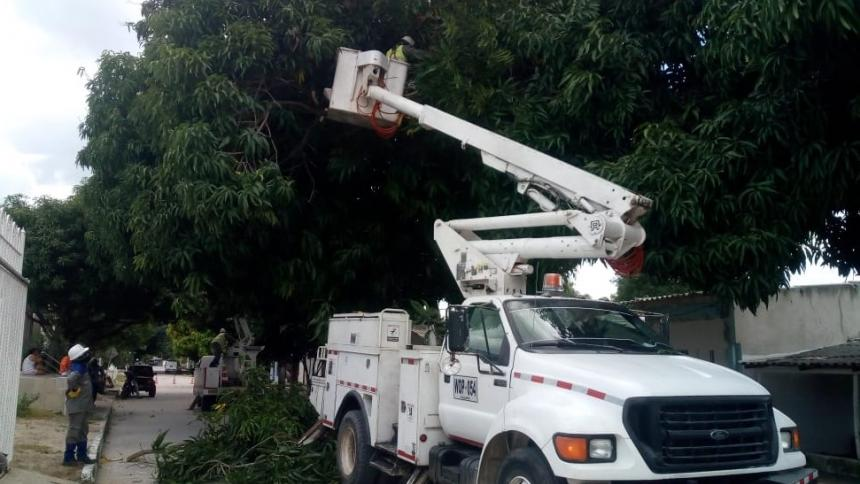 Cinco barrios de Barranquilla no tendrán energía este miércoles