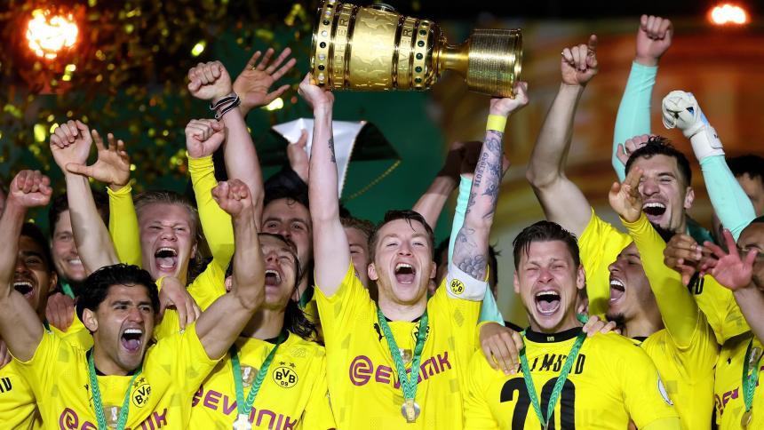 Borussia Dortmund vs. RB Leipzig Copa Alemania