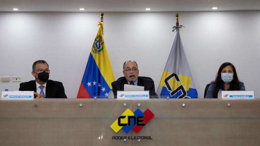 Elecciones locales y regionales de Venezuela serán el 21 de noviembre
