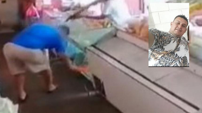 Investigan crimen de tendero en el barrio Carrizal