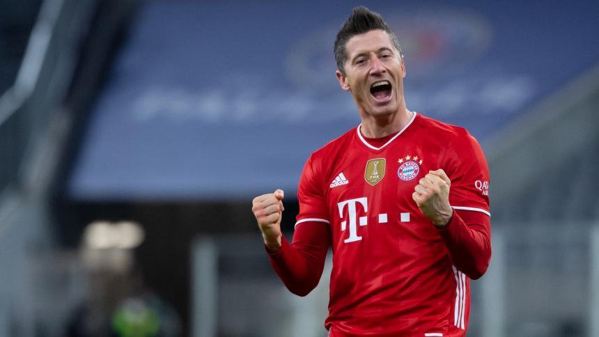 Lewandowski persigue récord de Gerd Müller de 40 goles en una temporada