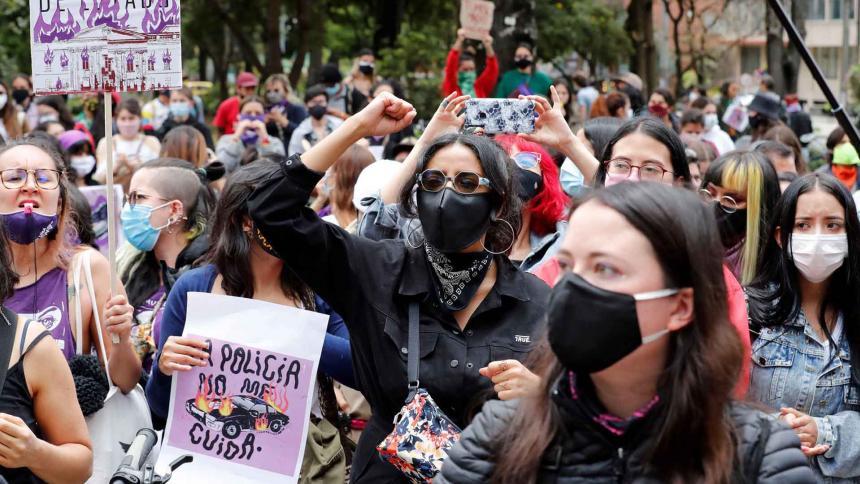 CIDH pide visitar Colombia ante posibles violaciones de DDHH en las protestas
