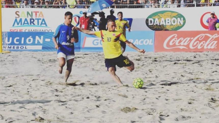 Julio Pantoja, del Atlántico, llamado a la Selección Colombia de Fútbol Playa