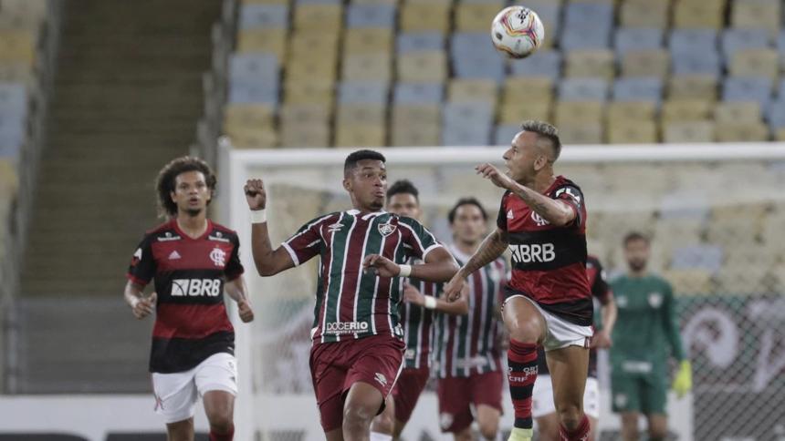 Flamengo y Fluminense empatan en el primer duelo por el título carioca