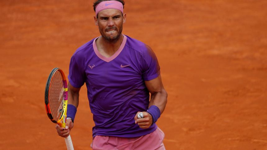 Nadal vence a Djokovic en la final del Masters de Roma