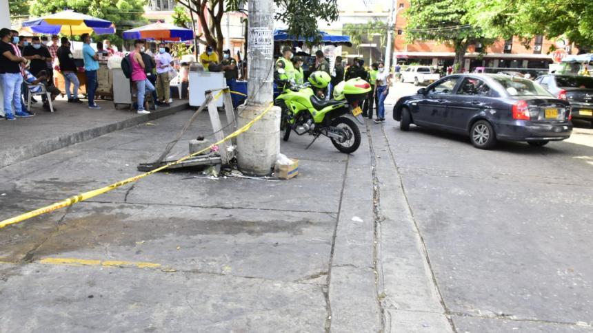 Asesinan a un hombre en el barrio Las Delicias