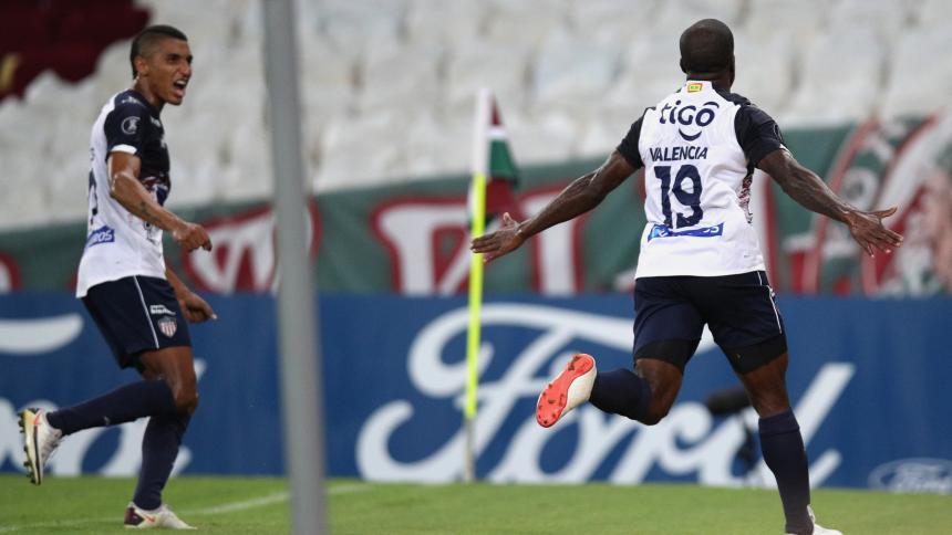 El video de los goles de la victoria de Junior 2-1 ante Fluminense en el Maracaná