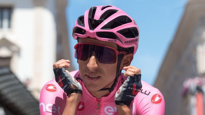 Egan Bernal habló sobre lo que resta del Giro y el tiempo que necesita