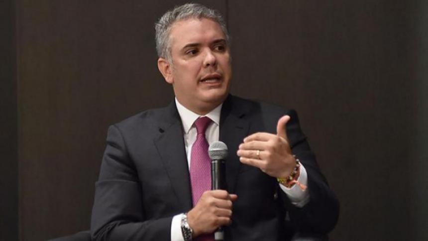 Duque pide a EE. UU. planes de ayuda para Latinoamérica