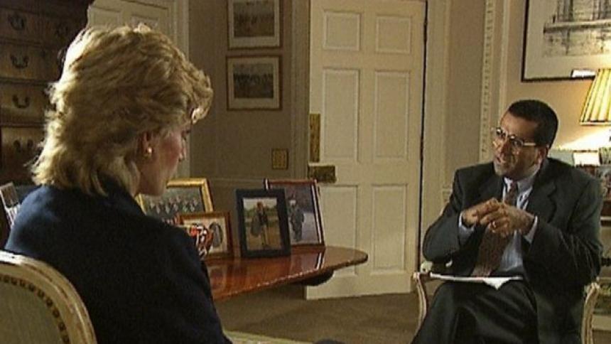 Grave crisis  en la BBC por entrevista a Lady Di hace 25 años