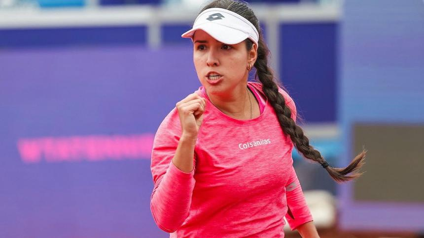 María Camila Osorio ya está en  el top 100  del mundo