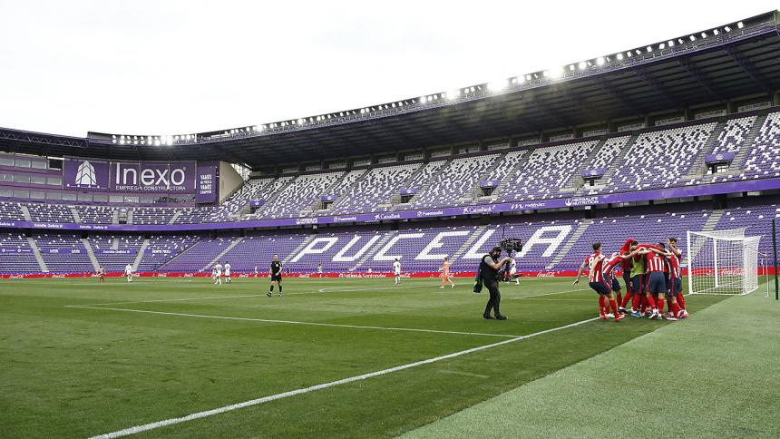 El Atlético de Madrid gana la la Liga española