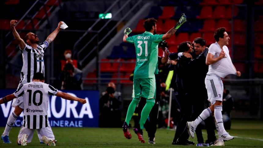 La Juventus sufre, pero entra en 'Champions'