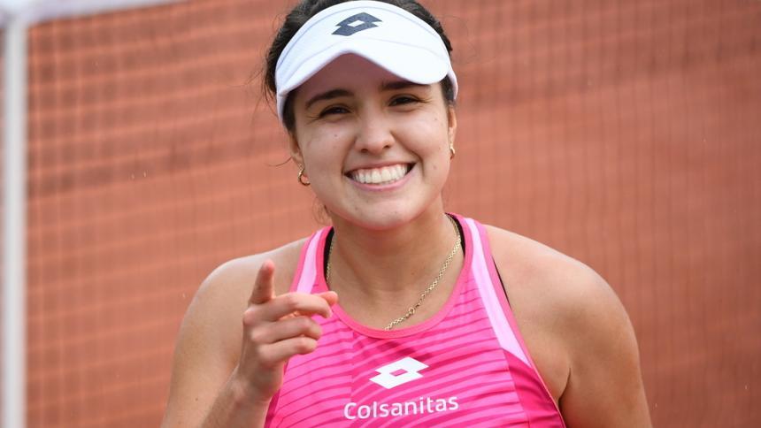 María Camila Osorio clasificó al cuadro principal de Roland Garros