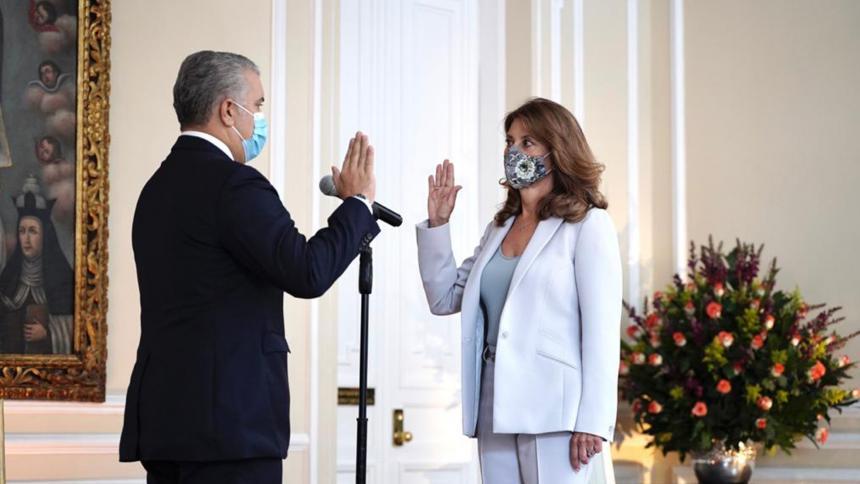 Marta Lucía Ramírez se posesionó como canciller