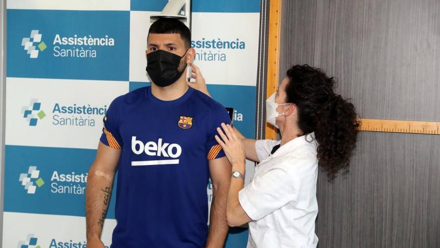 El Barcelona ficha a Agüero por dos temporadas