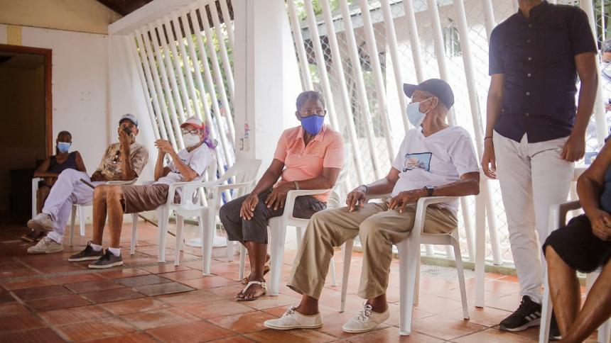133 adultos mayores, nuevos beneficiarios del subsidio económico en Cartagena