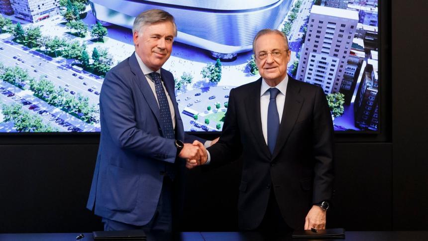 Carlo Ancelotti habló sobre la renovación de Sergio Ramos