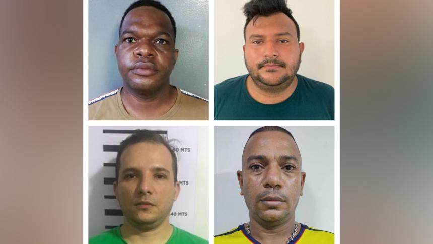 Capturan a cuatro cobradiarios en Barranquilla y Cartagena