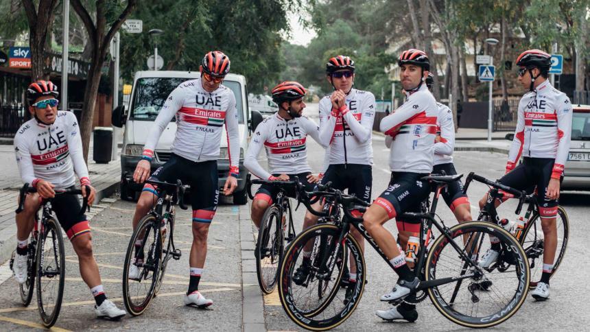 UAE Team Colombia acaba su equipo de ciclismo por un caso de dopaje