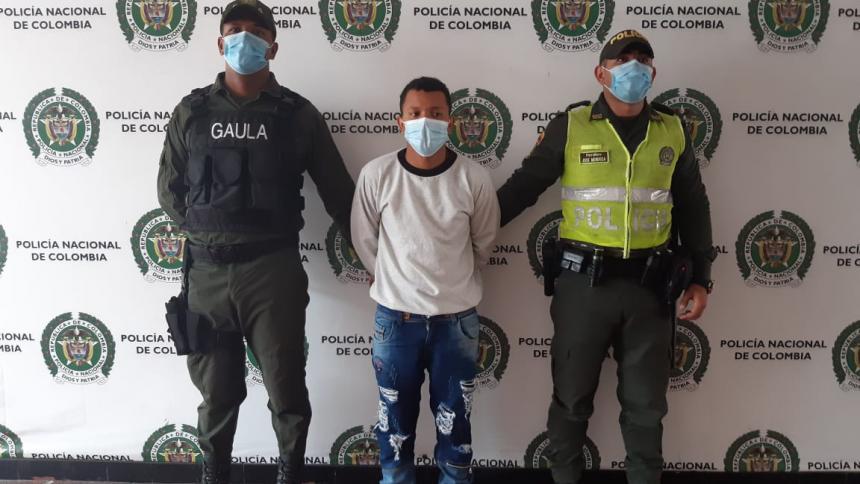 Capturan a alias Marcial, presunto extorsionista de 'los Costeños'