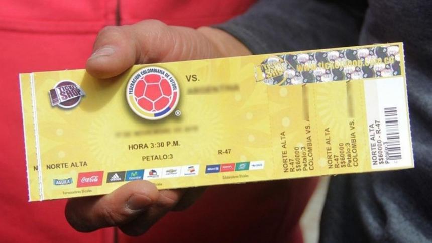 No habrá venta de boletas para Colombia vs. Argentina