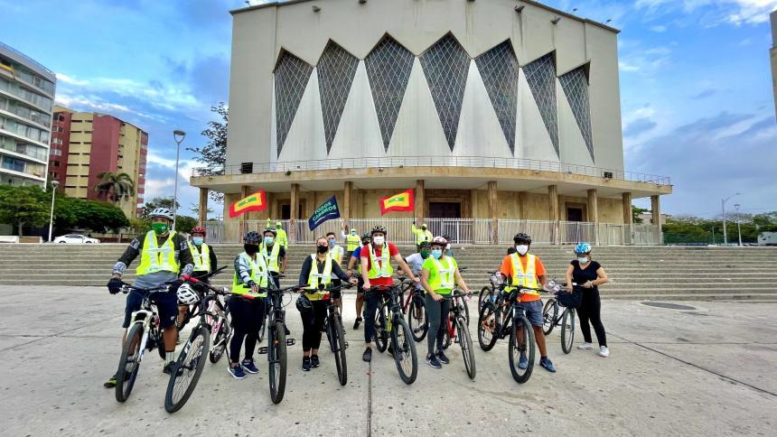 Barranquilla celebra el día mundial de la bicicleta