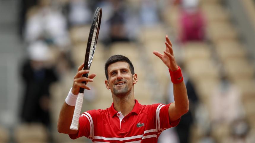 """""""No copio a nadie, pero me gusta imitar detalles de los mejores"""": Djokovic:"""