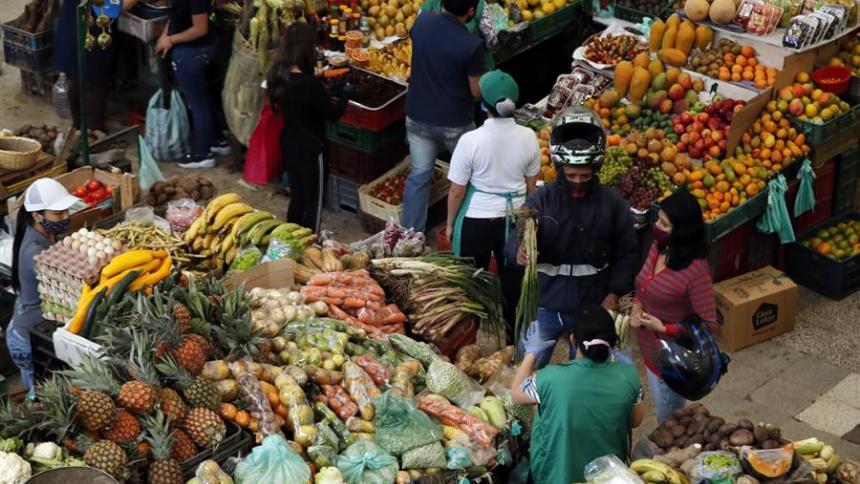 Inflación de Colombia en mayo fue del 1%