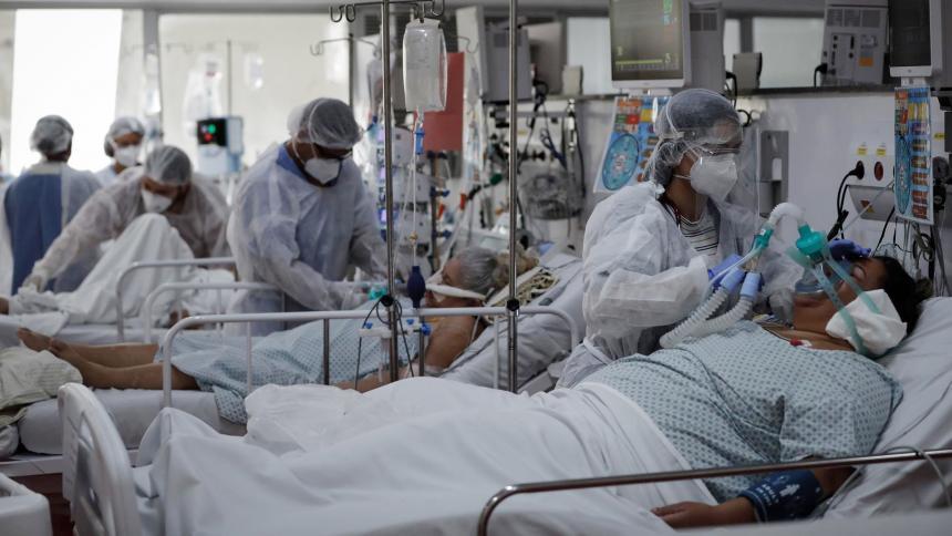 Brasil roza las 475 mil muertes por covid-19