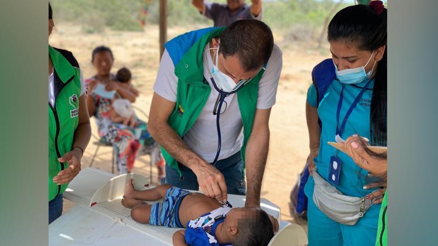 Según el ICBF, desde 2018 ha atendido a 342 mil niños en La Guajira