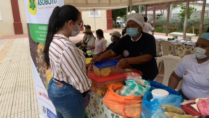 Turbana, Bolívar, rindió homenaje a los campesinos