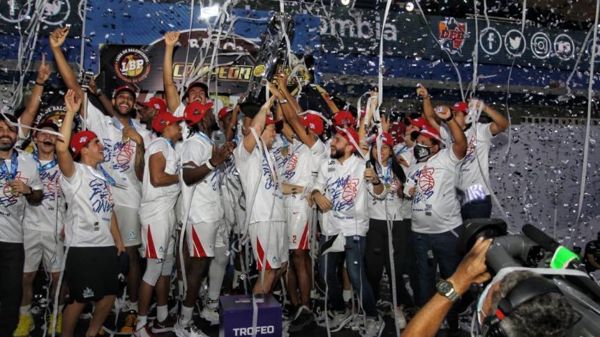 Titanes es tetracampeón de la Liga de Baloncesto Profesional de Colombia