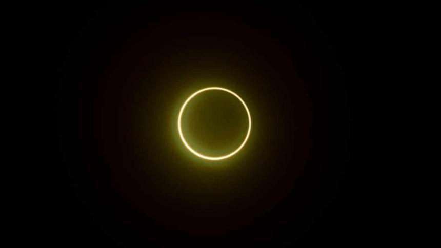 """El primer eclipse solar anular de 2021 creará el llamado """"anillo de fuego"""""""