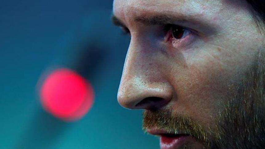 Respiradores donados por Messi están varados en un aeropuerto argentino