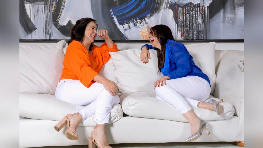 María Emilia  De La Rosa y Rosario Pumarejo: 'hermanas' y socias de la vida