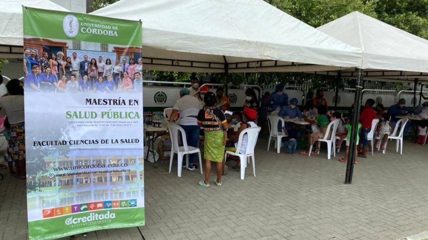 Alerta de salud pública en albergues improvisados en Montería