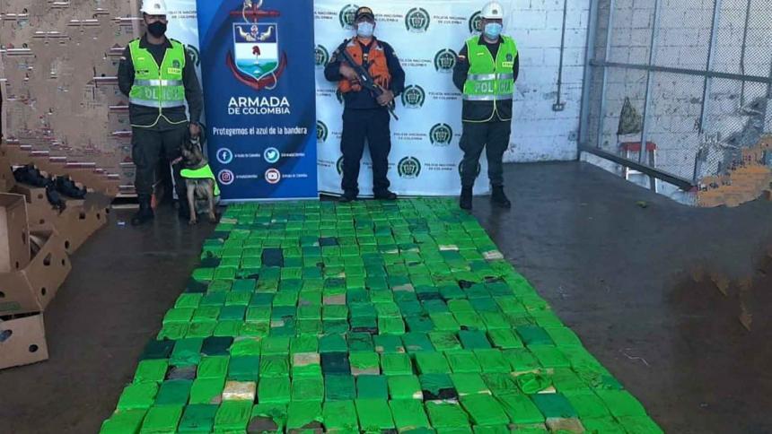 Decomisan 298 kilos de coca que serían de los Pachenca