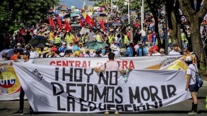 Comité Nacional del Paro canceló reunión sobre continuidad de manifestaciones