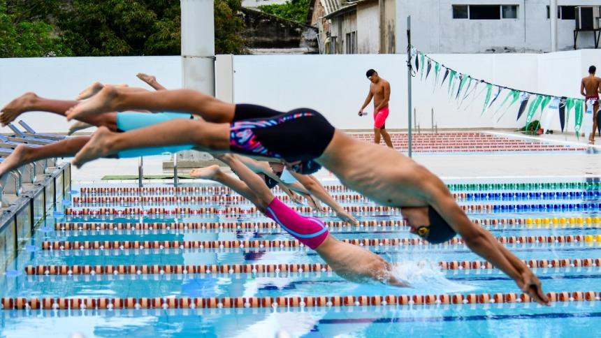 A pesar de adversidades, Atlántico gana medallas en Nacional de natación