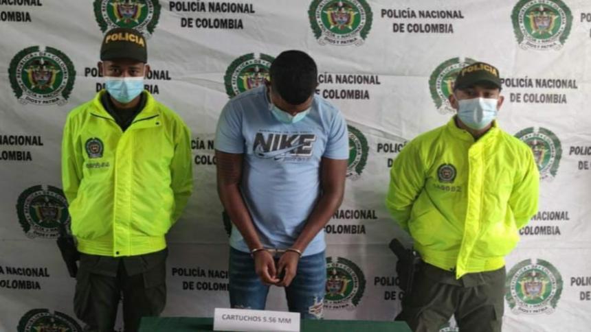 Capturado alias Leito, cabecilla de 'los Pachenca' en Santa Marta
