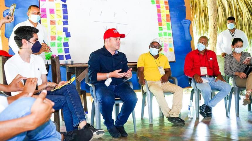 Gobernador de Sucre se comprometió a designar alcalde encargado en San Onofre