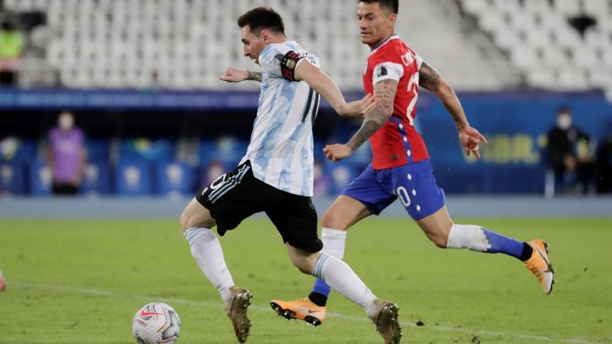 """Nos faltó tranquilidad"": Messi"