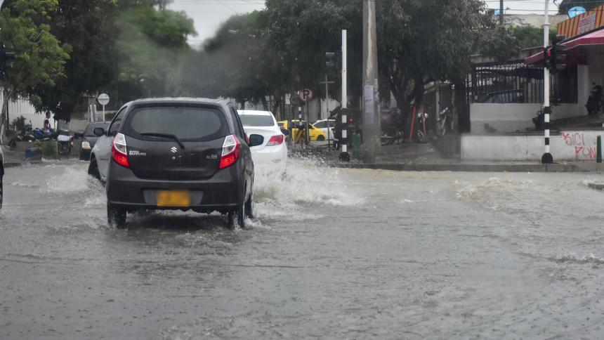 Lluvias continúan en la región Caribe: Ideam
